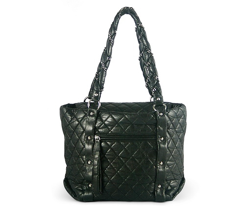 Chanel Lady Braid Shopper Black Buy Layaway Rent Borrow Luxury Pre Owned Authentic Designer
