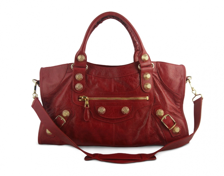 Balenciaga Part Time Ggh Sang Red Buy Layaway Rent Borrow Luxury Pre Owned Authentic Designer