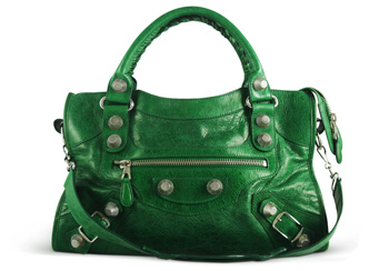 Balenciaga City GSH <br> Pommier Palm Green