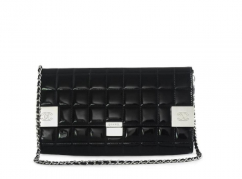 Chanel Classic Flap Medium Black Patent