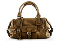 Chloe Paddington Shopper Argent