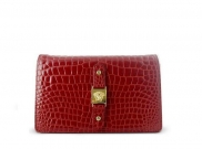 Versace by Gianni Versace Red Croco Clutch