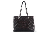 Chanel Grand Shopping Tote Caviar Bordeaux
