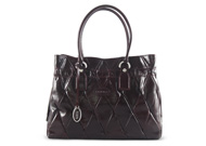 Tods Restyling D Bag Large Patent Bordeaux