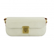 Louis Vuitton Monogram Vernis Malibu Pearl White