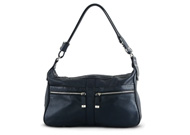 Tods Micky Hobo Messenger Dark Blue Metallic