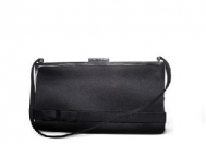 Marc Jacobs Black Satin With Bow