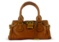 Chloe Paddington Satchel Whiskey