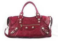 Balenciaga Part Time GSH Poupre Pomegranate