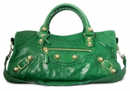 Balenciaga Part Time GGH Pommier Palm Green